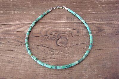 Navajo Hand Strung Turquoise Anklet/Bracelet by D. Jake