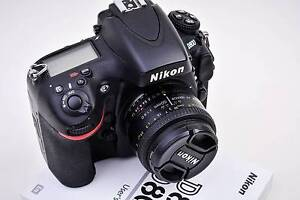 Nikon D800 Digital SLR Camera with Nikkor 50mm Lens Sydney City Inner Sydney Preview