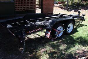 13' x 6' tandem beaver tail mesh car trailer Rivett Weston Creek Preview