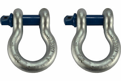 2 Lot 1 D Ring Bow Shackle Screw Pin Clevis Rigging Jeep Towing 8.5 Ton