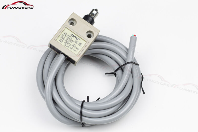 Heavy Duty 5A Sealed Roller Plunger Momentary Limit Switch IP67 Waterproof NC/NO