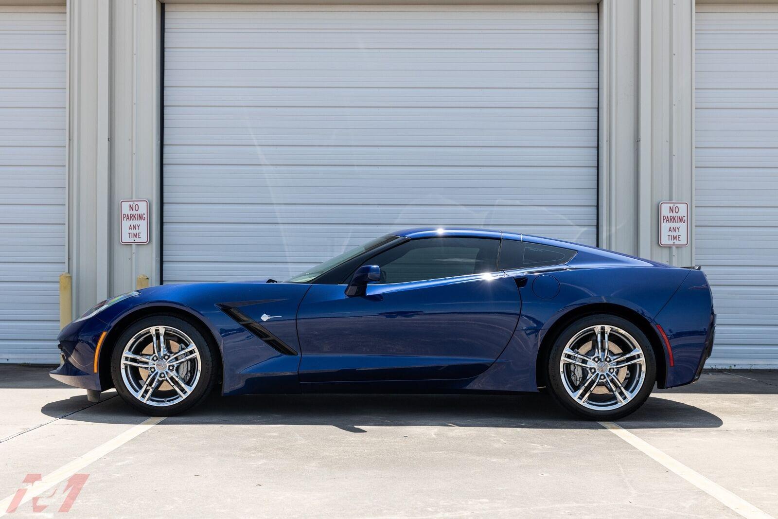 2017 Blue Chevrolet Corvette  2LT | C7 Corvette Photo 9
