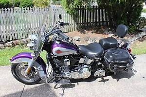 2001 HERITAGE SOFTAIL CLASSIC HARLEY DAVIDSON. Eagleby Logan Area Preview