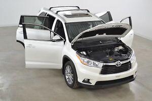 2016 Toyota Highlander XLE 4WD GPS*Cuir*Toit*Camera Recul* 8 Pas