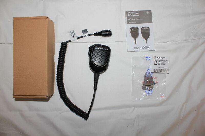 Motorola OEM RMN5052 RMN5052A Compact TRBO Mic XPR4300 XPR4500 XPR4550