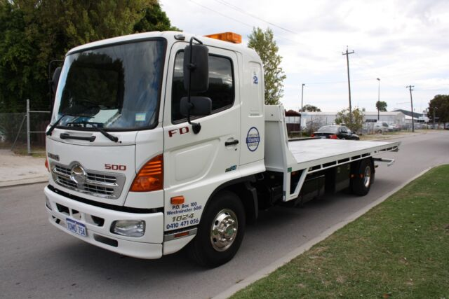 All Areas Towing Service Tow Truck Tilt Tray Perth