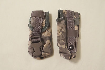 2 Each Molle II ACU Flashbang/GPS/Phone/Misc. Pouch Military Issue, New