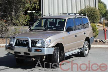 2002 Toyota LandCruiser Wagon Prado Manual 3L Turbo Diesel