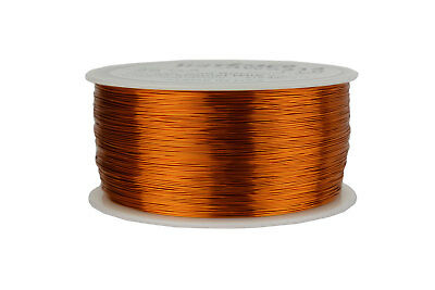 Temco Magnet Wire 28 Awg Gauge Enameled Copper 200c 1lb 1988ft Coil Winding