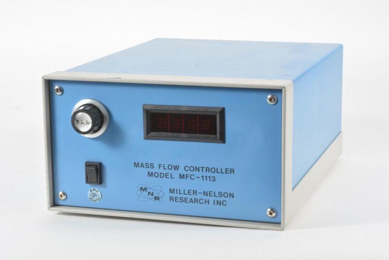 MNR Miller-Nelson MFC-1113 Mass Flow Controller
