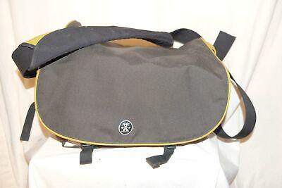 CRUMPLER 3 in 1 Messenger Bag Kameratasche SIXHUNDRED DAILY XL grau/gelb