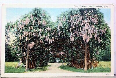 South Carolina SC Camden Lover's Lane Postcard Old Vintage Card View Standard PC