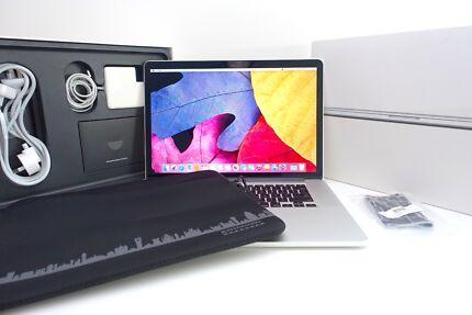 "Macbook Pro RETINA 15"" MAXED 768SSD 16gb as NEW + 28 batt cycles!"