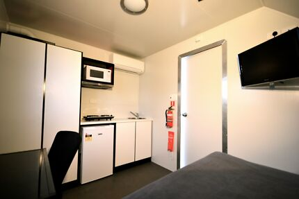 A/C Cabin for Rent - Free fast NBN WiFi - $180pw