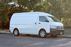2011 Toyota Hiace SLWB Turbo Diesel Lidcombe Auburn Area Preview