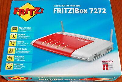 FRITZ!Box 7272 ADSL2+ WLAN N bis  450 MBit/s Tel IP ISDN  analog Fritzbox