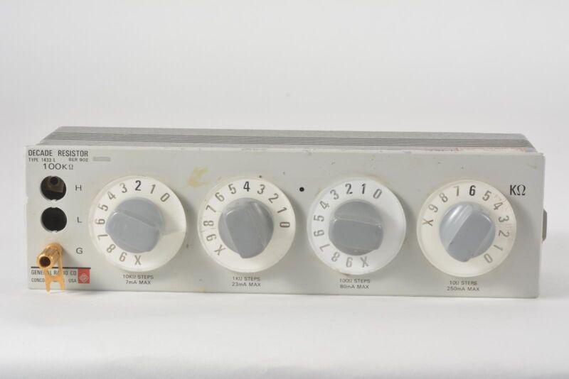 General Radio Decade Resistor Type 1433-U 100 Ohms