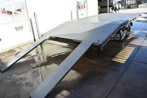 12X8 FLAT TOP BEAVER-TAIL TRAILER - 1990 kg ATM Holden Hill Tea Tree Gully Area Preview