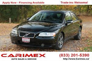 2007 Volvo S60 2.5T Leather | Sunroof | CERTIFIED