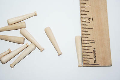 25pcsTiny Miniature Wood Baseball Bat Small Baseball Bat Bas