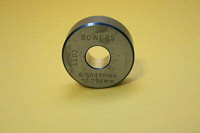 Federal Bowers 12 Setting Master Bore Gage Ring .50030