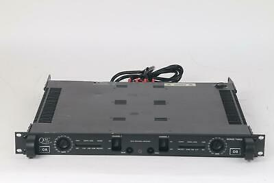 Qsc 2 Channel Amplifier (QSC 3200 Series Three 2 Channel Amplifier Amp with Accessories )
