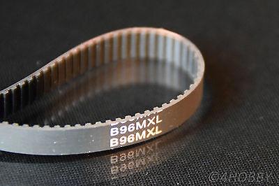Zahnriemen 96 Zähne B96MXL 2mm-Teilung Zahnräder Modellbau RC Synchronriemen
