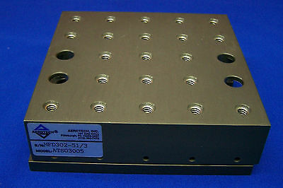 Aerotech Ats03005 Sn Mfd302-513 Mechanical-bearing Linear Stage 5 X 5 Stage