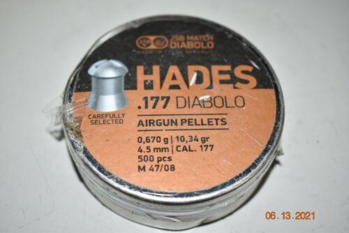 JSB Hades Pellets  .177 Cal, 10.34 gr 500 ct