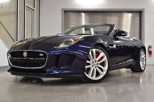 2014 Jaguar F-Type S *Bas KMs + Navigation*