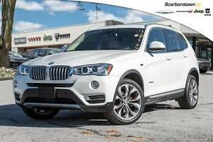 2015 BMW X3 xDrive28i+NAV+PAN-ROOF