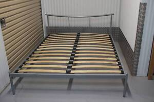 Queen Size Gray Metal Bed, very good condition Kelvin Grove Brisbane North West Preview