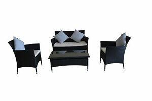 Rattan Wicker Outdoor(patio) Sofa Set with All  Cushions