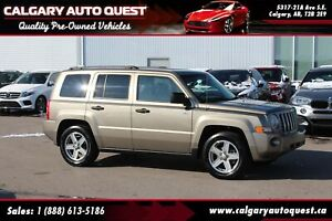 2008 Jeep Patriot 4WD Sport LOW KMS / MUST SEE /