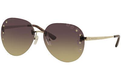 Michael Kors Sydney MK1037 MK/1037 121270 Lite Gold Pilot Sunglasses (Sunglass Sydney)