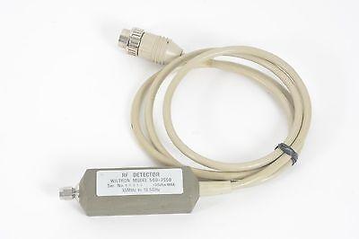 Wiltron 560-7s50 Rf Detector 10 Mhz - 18.5 Ghz 20 Dbm Max