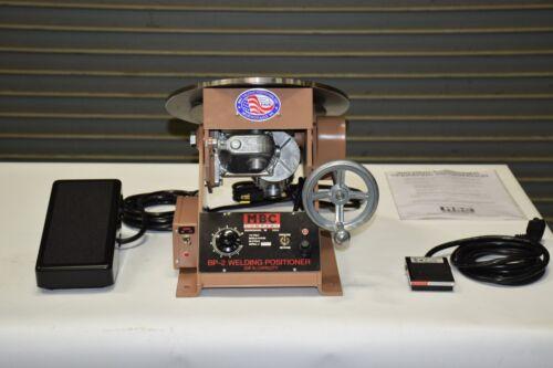 MBC BP-2A 200 LB CAPACITY Bench Top Weld Positioner 0-4.5 RPM