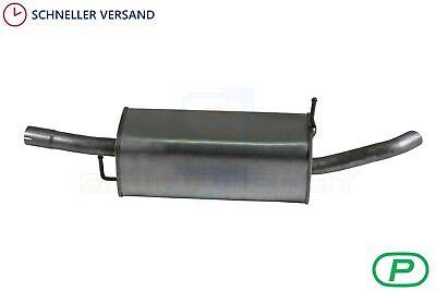 Endschalldämpfer Ford Fusion 1.4 TDCi Turbo Diesel 05 Auspuff