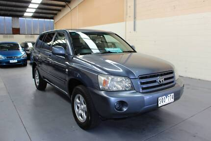 2003 Toyota Kluger 7 Seat With 12 Months Warranty Dirive Away