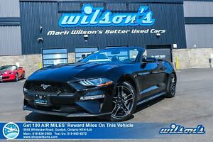 2018 Ford Mustang Convertible - Leather, Navigation, Rear Camera