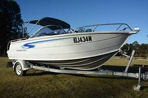 Stacer 549 Easy Rider Sport 2006 115 hp. Kundabung Kempsey Area Preview