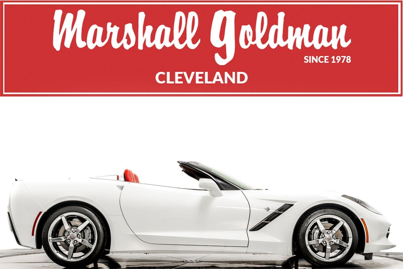 2015 White Chevrolet Corvette Convertible 3LT   C7 Corvette Photo 1