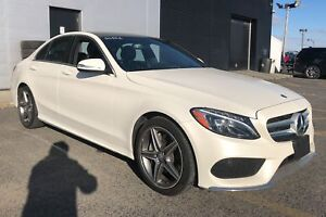 2015 Mercedes-Benz C-Class C300 4 MATIC AMG PACK CUIR TOIT PANO