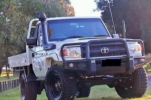 2012 Toyota Landcruiser Workmate VDJ79R Manual 4x4 MY13 Carlisle Victoria Park Area Preview