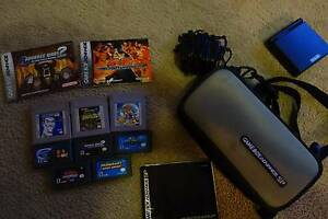 Nintendo Game Boy Advance SP with 8 x Games w official carry bag Kingsley Joondalup Area Preview