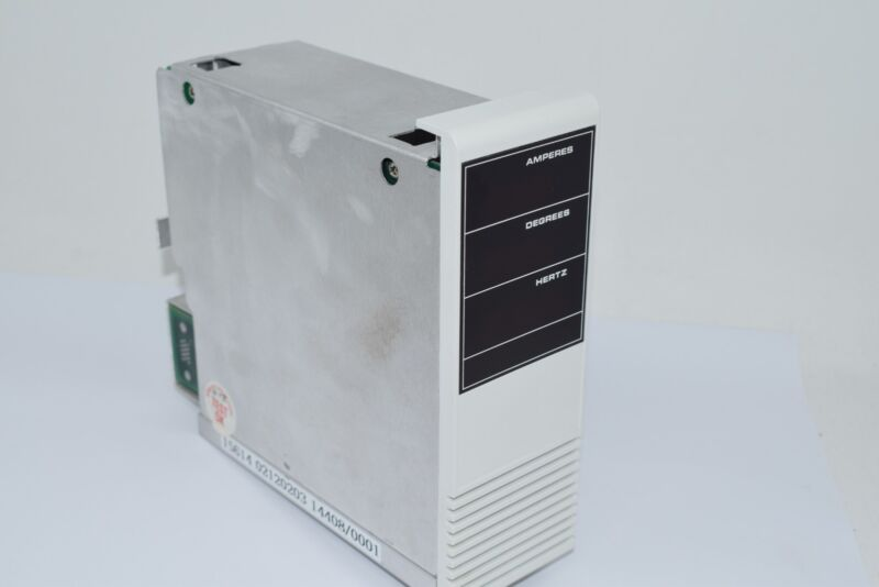 15614 02120203 14408/0001 AMPS Degrees Hertz PLC Module PCB