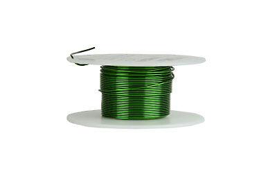 Temco Magnet Wire 20 Awg Gauge Enameled Copper 155c 2oz 39ft Magnetic Coil Green