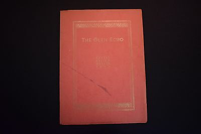 1934 The Glen Echo Codorus Township High School Glenville Pa Unsigned Yearbook