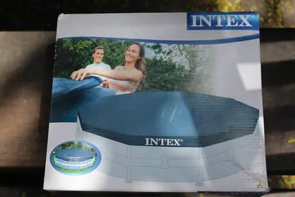 3.66M ROUND INTEX POOL COVER