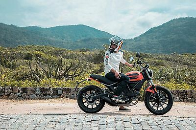 Ein Mix aus Tradition und Moderne: Ducati Scrambler. (© Ducati)